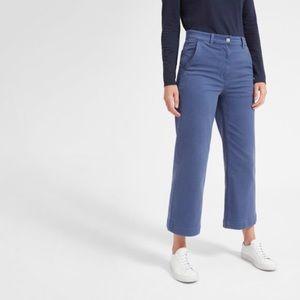 Everlane Wide Leg Crop Pants